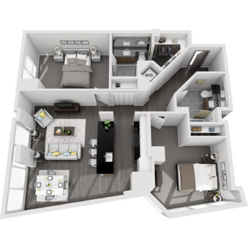 APT E0711 floor plan