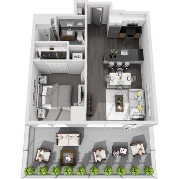 APT W0505 floor plan