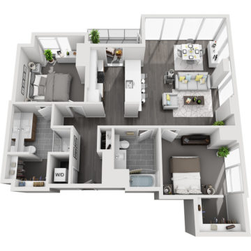 APT W0602 floor plan