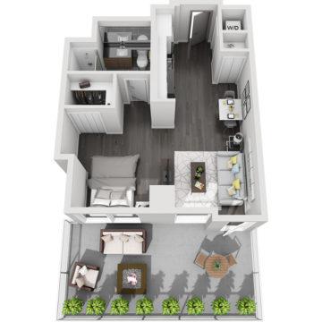 APT W0503 floor plan