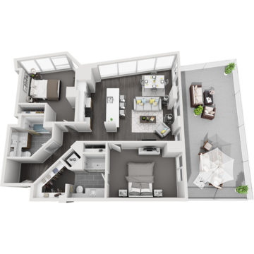 APT E0612 floor plan
