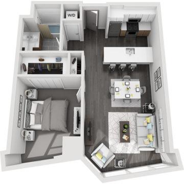 APT E0709 floor plan