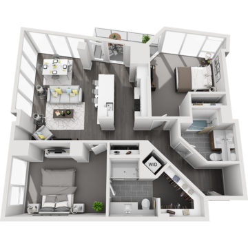APT W2210 floor plan