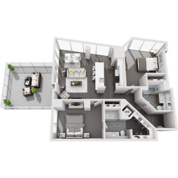 APT E2010 floor plan