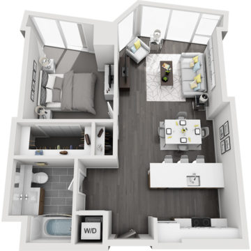 APT E1110 floor plan