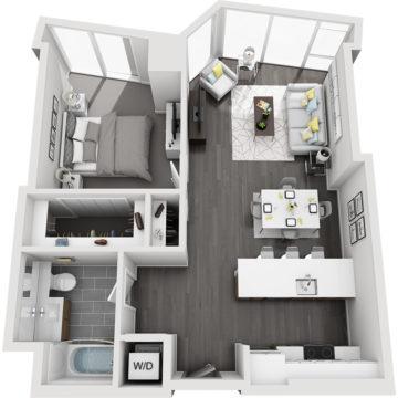 APT E0710 floor plan
