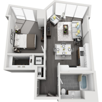 APT W2106 floor plan